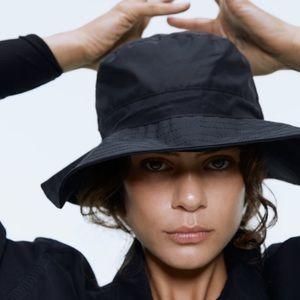 NWT Zara Nylon Bucket Hat